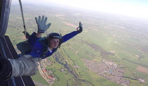 Static Line skydiving