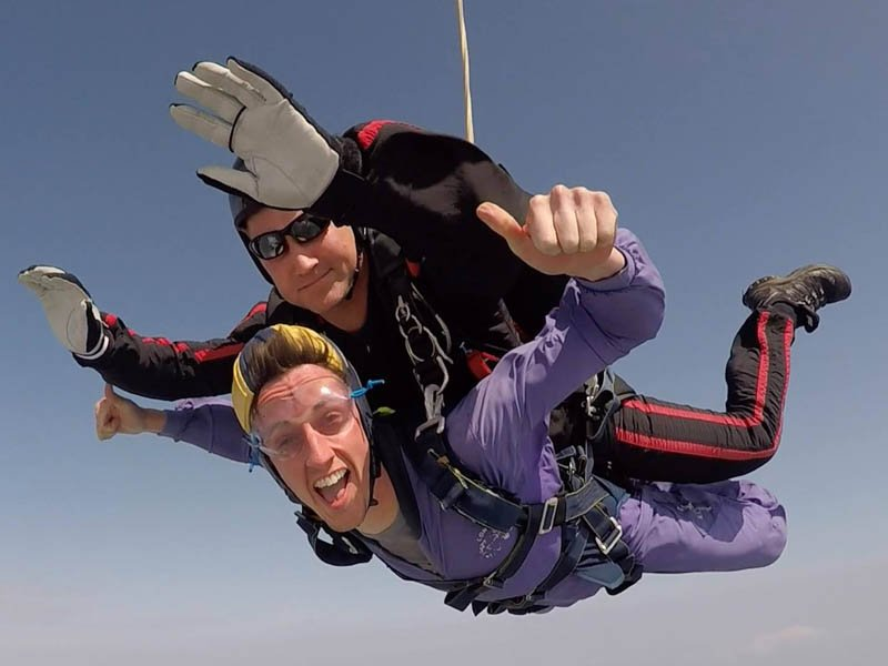 Guide Dogs Charity Skydive